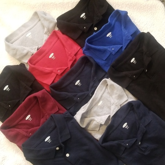 Old Navy Other - 11 Old Navy Polo Shirts